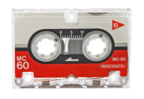 Audio Microcassette