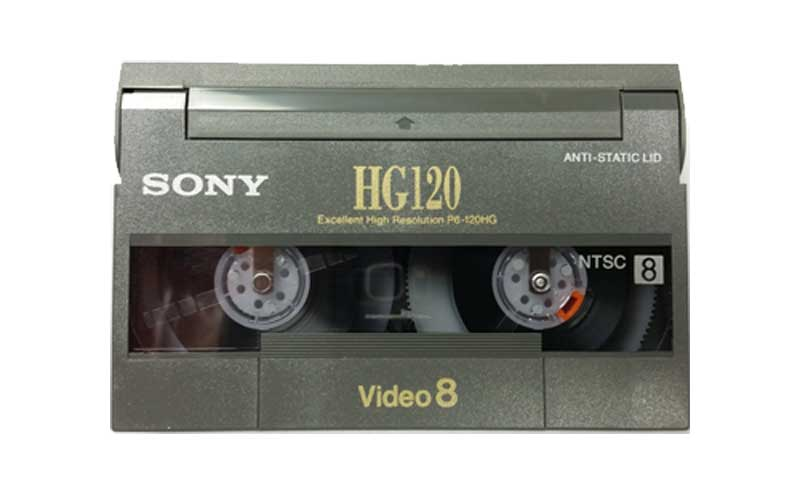 8mm / Hi8 Video Tape