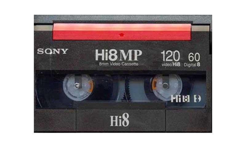 Digital8 Video Tape