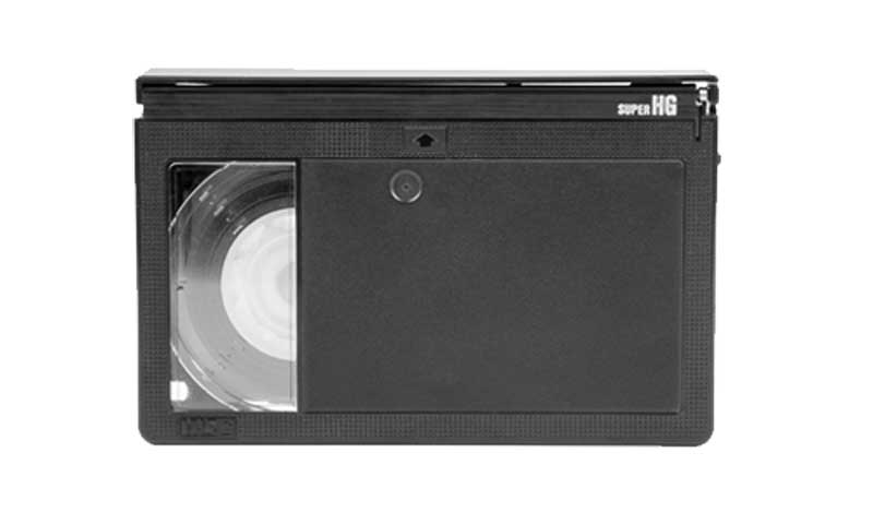 VHS-C Video Tape