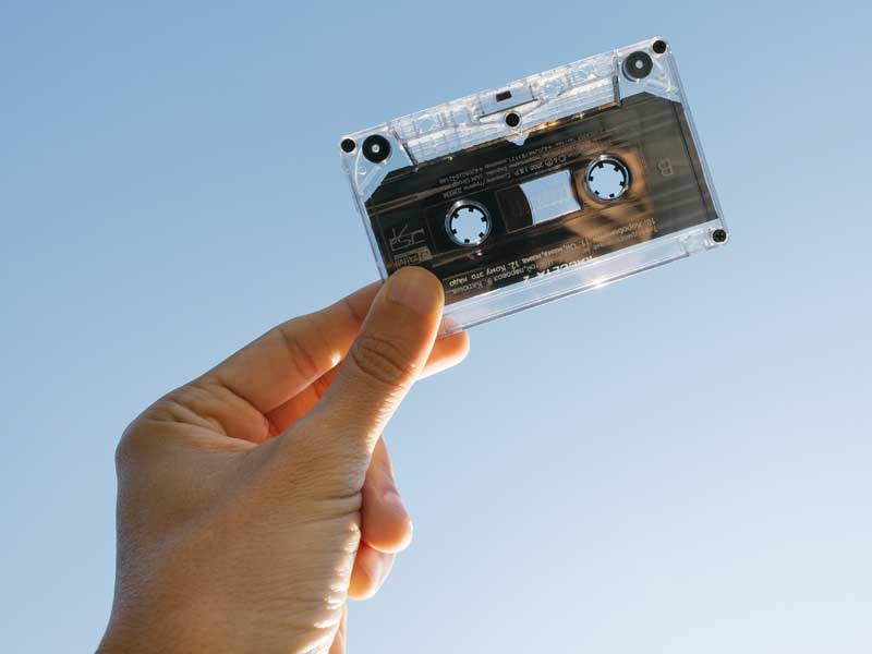 Audio Tapes to MP3 and WAV