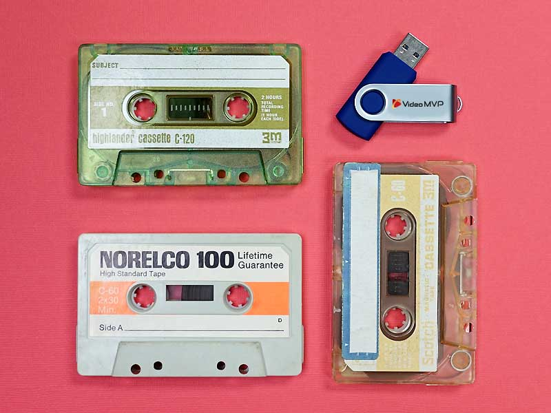 Audio Tapes to Digital Files