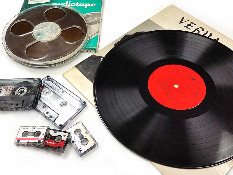 LP Records to Digital Files