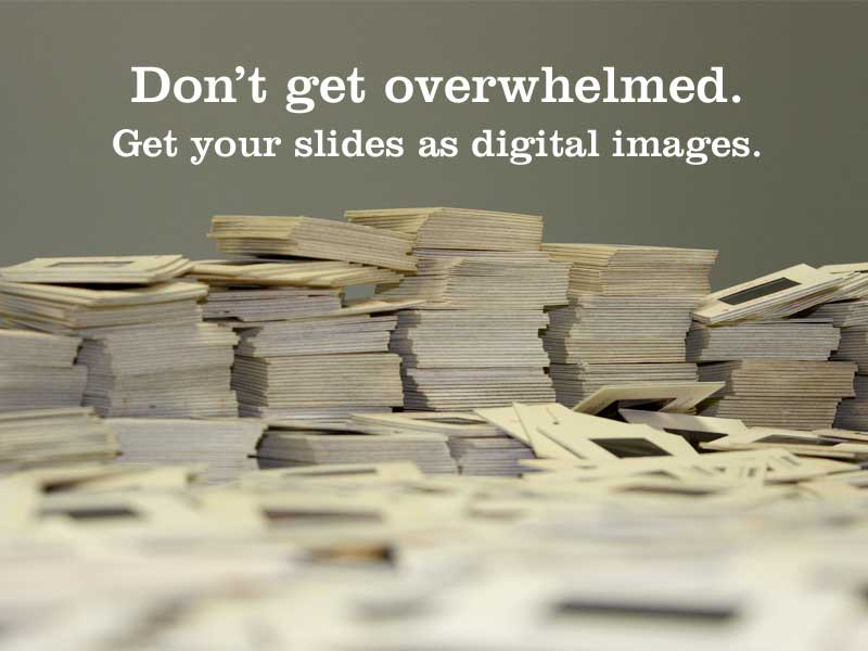 Slides to Digital Images