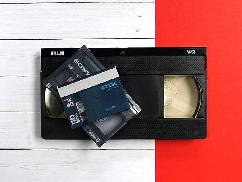 Video Tapes to Digital