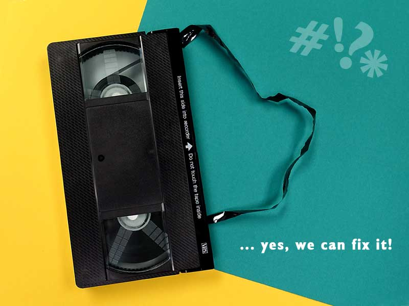 Video Tapes to Digital Files, USB, DVD